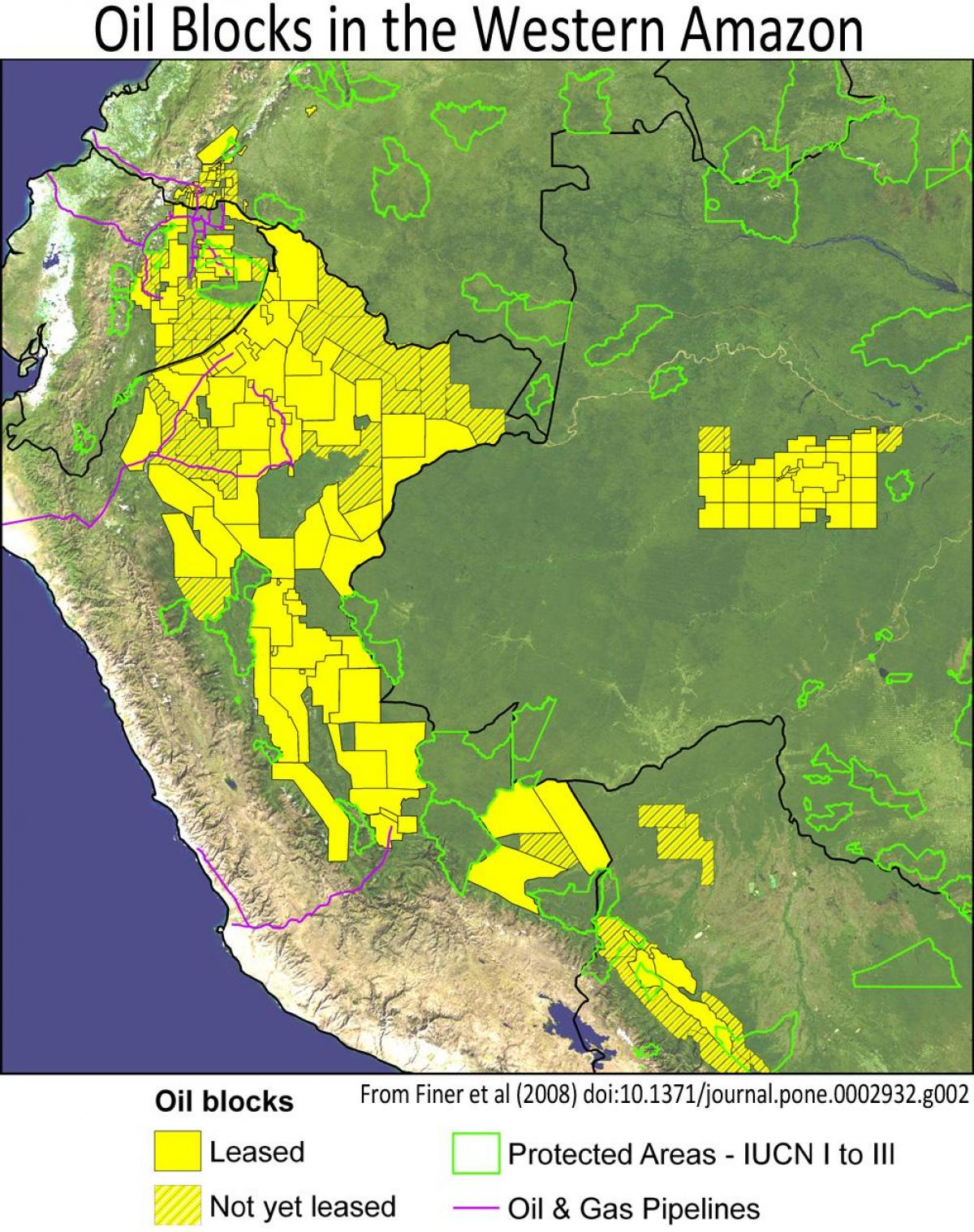 Peru Floresta Mapa Peru Floresta Amazônica Mapa De